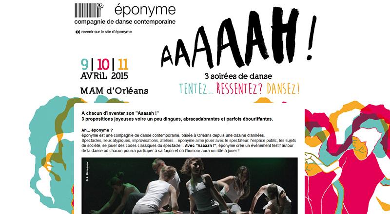 Compagnie éponyme Danse contemporaine