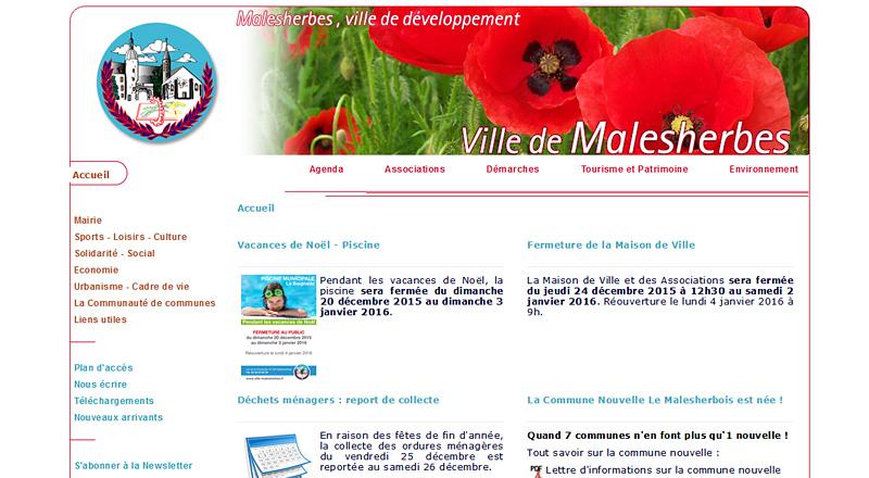 Ville de Malesherbes (45)