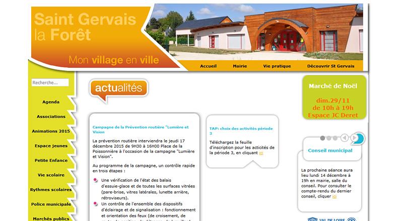 Ville de Saint Gervais la Forêt (41)