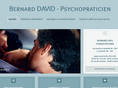 Bernard DAVID Psychopraticien