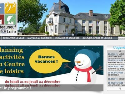 Ville de Châteauneuf sur Loire (45)