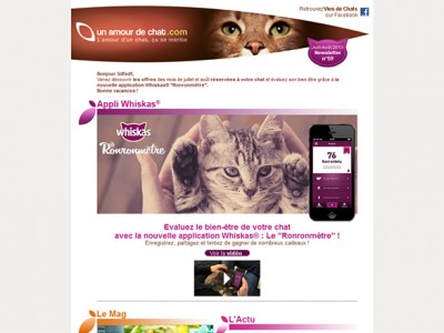 Newsletters & Emailings Groupe Mars