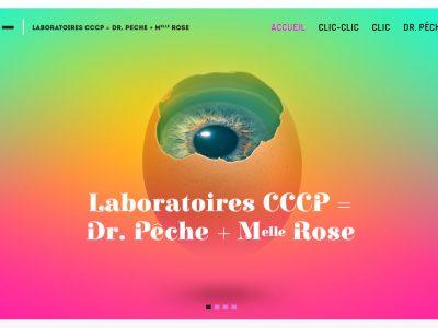 Laboratoires CCCP = Dr. Pêche + Melle Rose