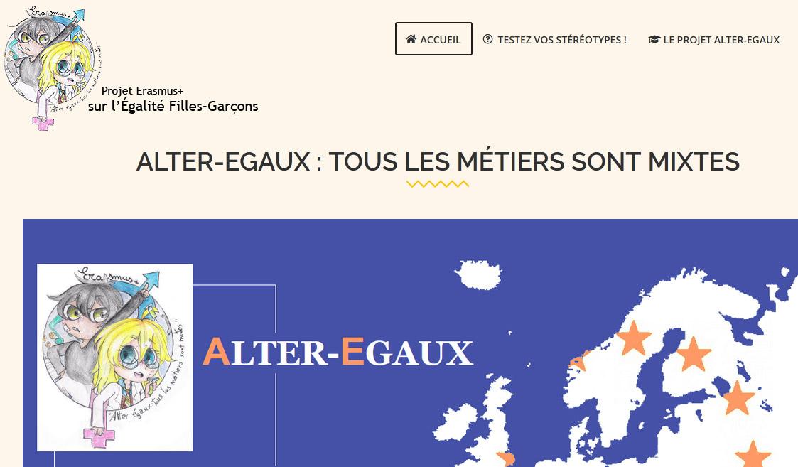 Alter-Egaux – Projet Erasmus +